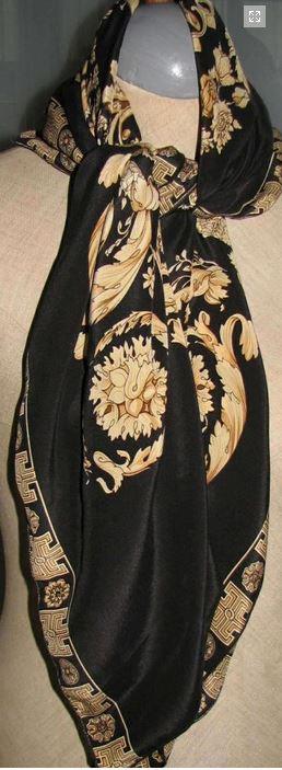 hodvábna šatka